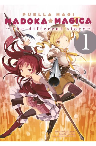 Puella Magi Madoka Magica: The different story 1