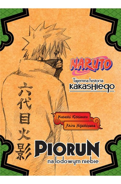 Naruto Light Novel 01 - Tajemna historia Kakashiego