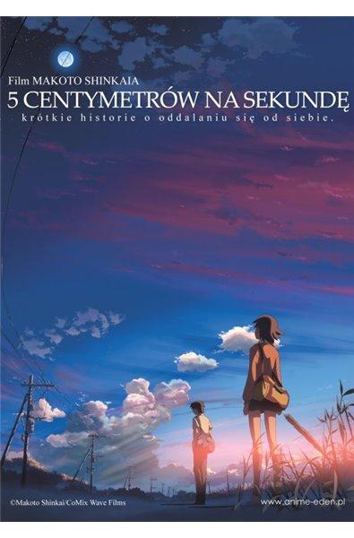 5 centymetrów na sekundę DVD+Blu-ray COMBO