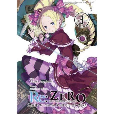 Re: Zero- Życie w innym świecie od zera 03 Light Novel