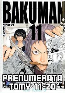 Prenumerata Bakuman 11-20