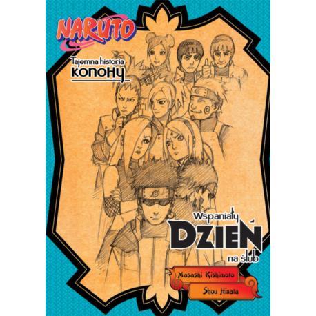 Naruto Light Novel 04 - Tajemna historia Konohy