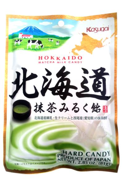 Kasugai Hokkaido Matcha Milk Candy