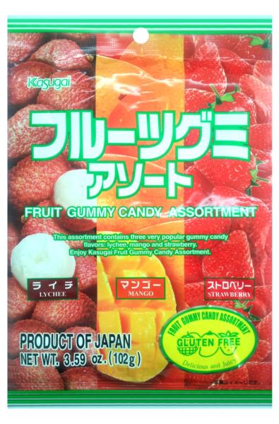 Kasugai Żelki Mix Smaków