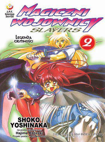 Magiczni Wojownicy Slayers 02