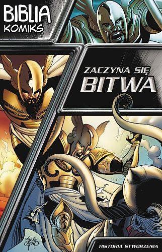 Biblia - komiks. Zaczyna się bitwa