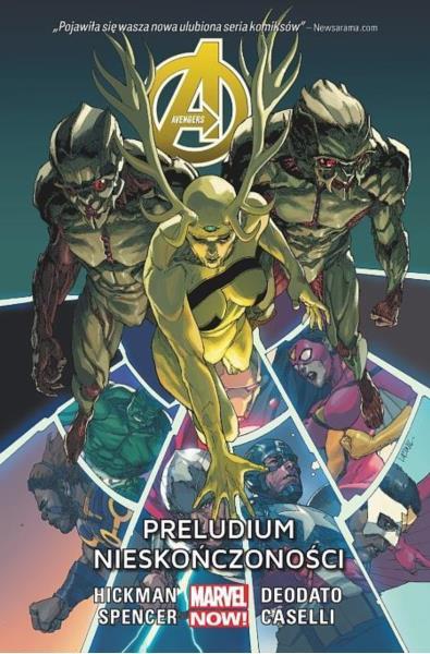 Avengers 3 - Preludium Nieskończoności