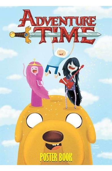 Adventure Time Poster Book