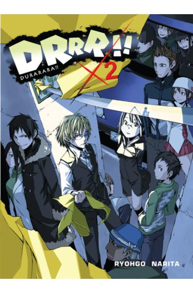 Durarara!! 02 Light Novel