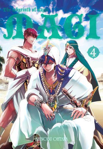 Magi: Labirynth of Magic 04