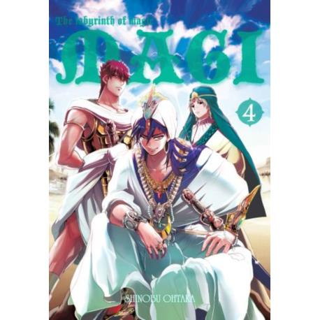 Magi: Labirynth of Magic 04