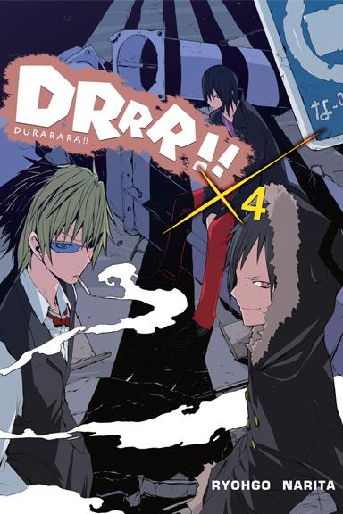 Durarara!! 04 Light Novel