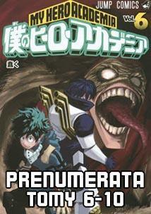 Prenumerata My Hero Academia 6-10