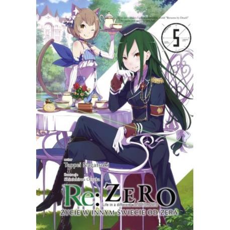 Re: Zero- Życie w innym świecie od zera 05 Light Novel