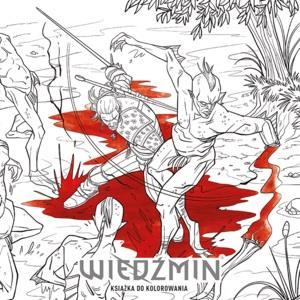 Wiedźmin - Książka do kolorowania