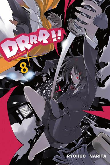 Durarara!! 08 Light Novel
