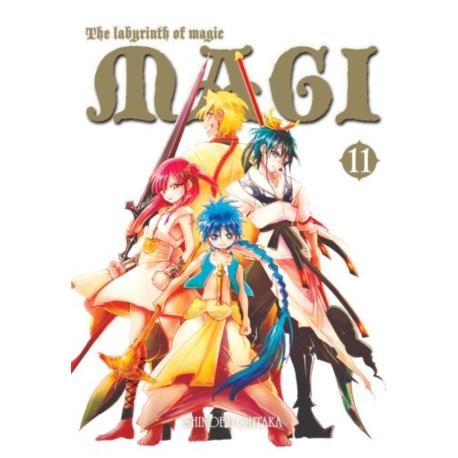 Magi: Labirynth of Magic 11