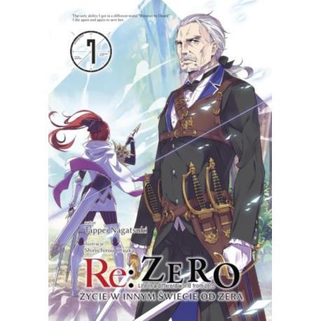 Re: Zero- Życie w innym świecie od zera 07 Light Novel