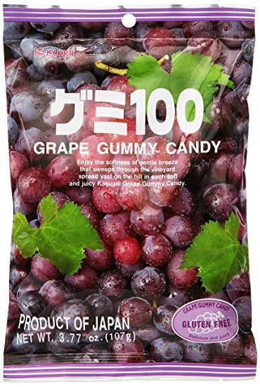 Kasugai Żelki Winogronowe