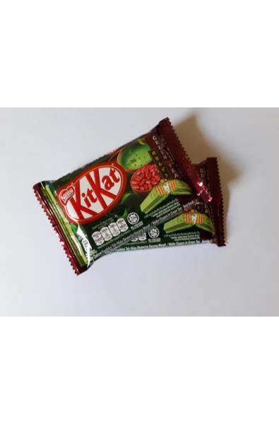 KitKat Zielona herbata i Czerowna Fasolwa