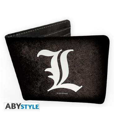 Death Note - portfel z symbolem L