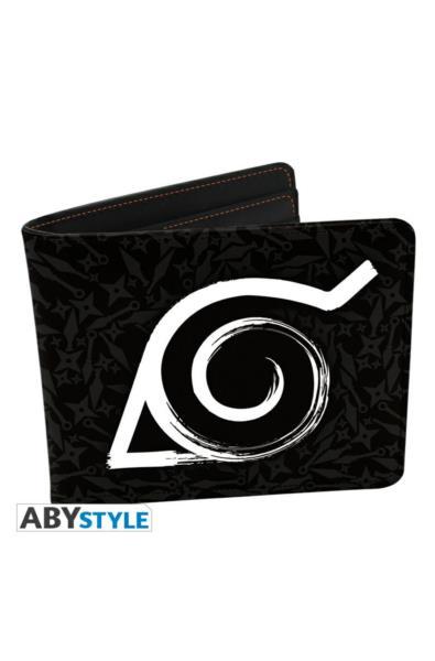 Naruto Shippuden - portfel z symbolem Konohy