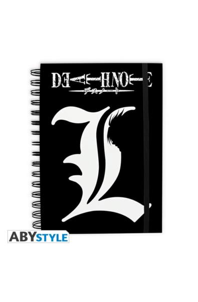 "Death Note - notes ""L"""