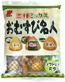 Sanko Seika Krakersy Ryżowe 3 smaki