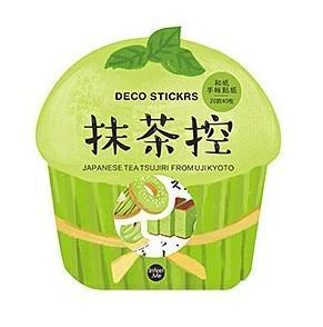 Zielona Herbata - papierowe naklejki