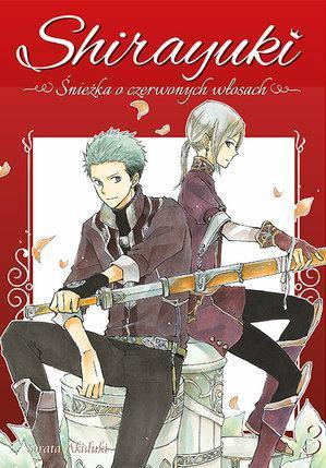 Shirayuki. Śnieżka o czerwonych włosach 03