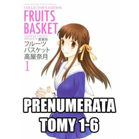 Prenumerata Fruits Basket 1-6