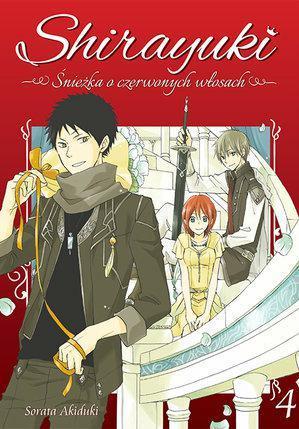 Shirayuki. Śnieżka o czerwonych włosach 04