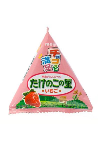 Meiji truskawkowe ciasteczka Takeno no Sato
