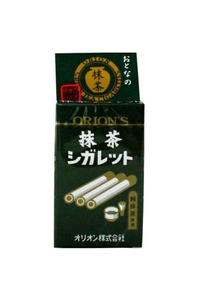 Orion cukierkowe patyczki o smaku zielonej herbaty