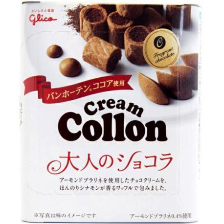 Glico Cream Colon o smaku czekoladowym