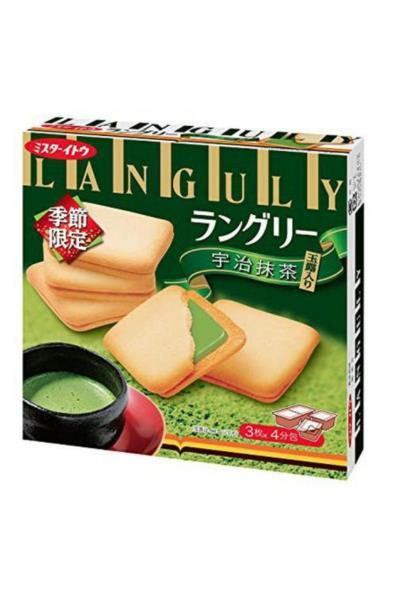 Ito Biscuits ciasteczka z nadzieniem o smaku zielonej herbaty