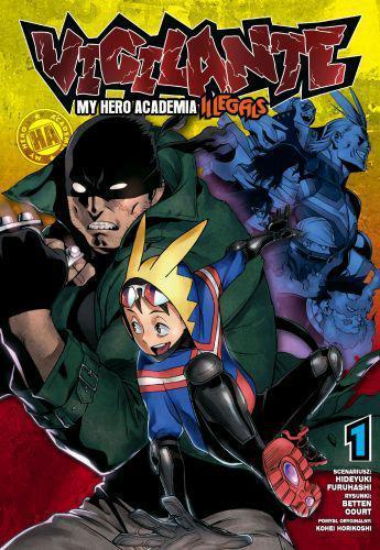 Vigilante. My Hero Academia - Illegals 01