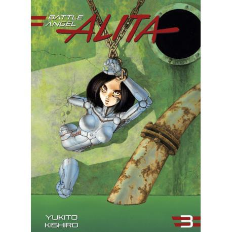 Battle Angel Alita (nowe wydanie) 03
