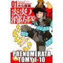 Prenumerata Fire Force tomy 1-10