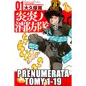 Prenumerata Fire Force tomy 1-19