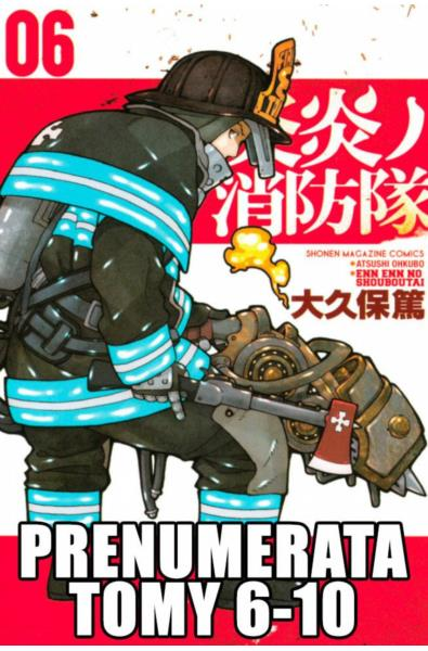Prenumerata Fire Force tomy 6-10