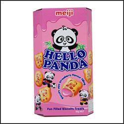 Hello Panda z nadzieniem truskawkowym