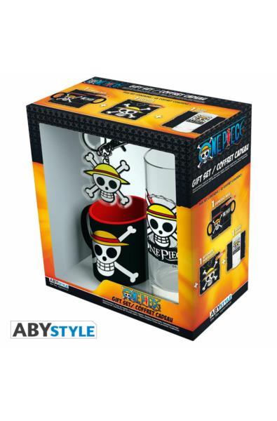 One Piece - mini kubek + szklanka + brelok