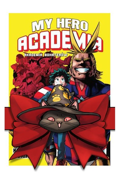 My Hero Academia 1-10 (pakiet)