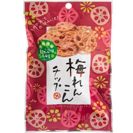 Sokan śliwkowe chipsy z lotosu