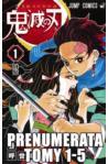 Prenumerata Kimetsu no yaiba tomy 1-5