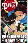 Prenumerata Kimetsu no yaiba tomy 1-10