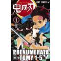 Prenumerata Kimetsu no yaiba tomy 1-15
