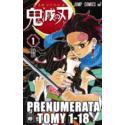 Prenumerata Kimetsu no yaiba tomy 1-18