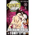 Prenumerata Kimetsu no yaiba tomy 11-18